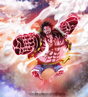 One Piece - Luffy Gear Fourth by k9k992