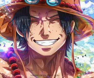 Ace - One Piece by k9k992