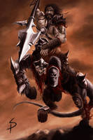 Centaur Warlord by SigbjornPedersen