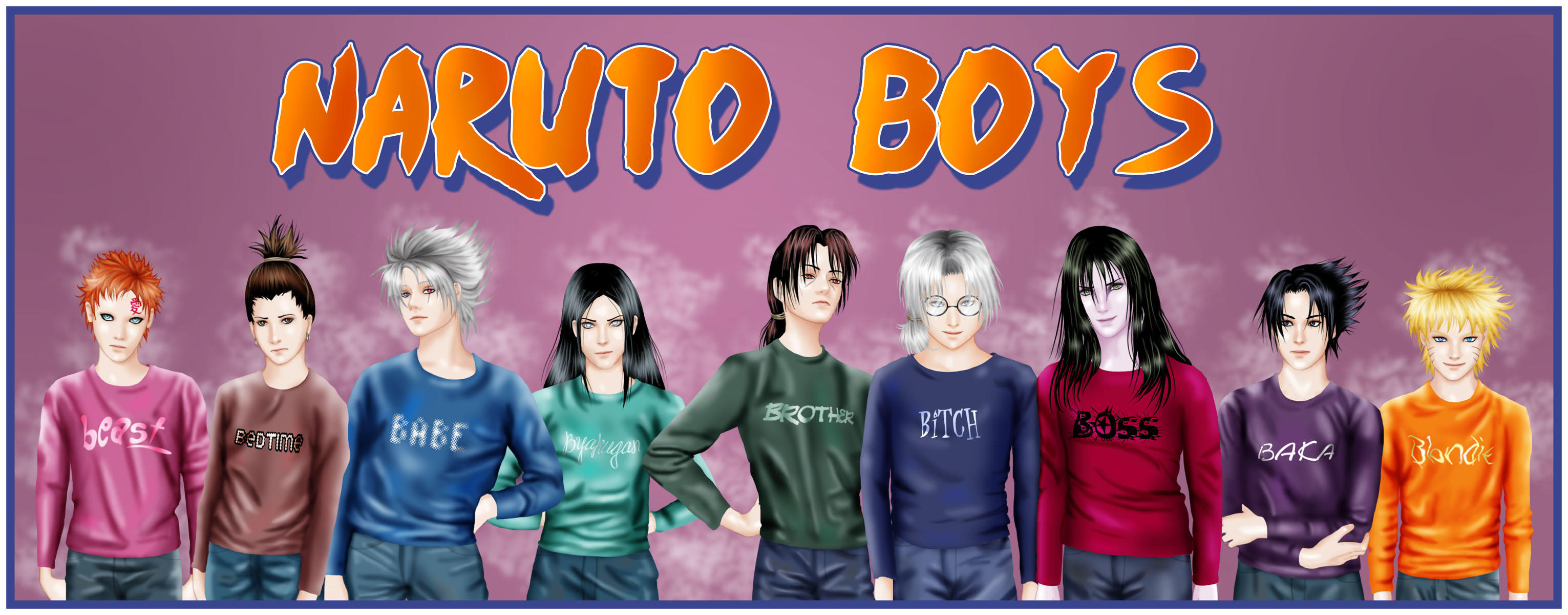 Naruto Boys