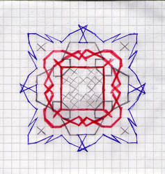 BlueRedGrey Pattern