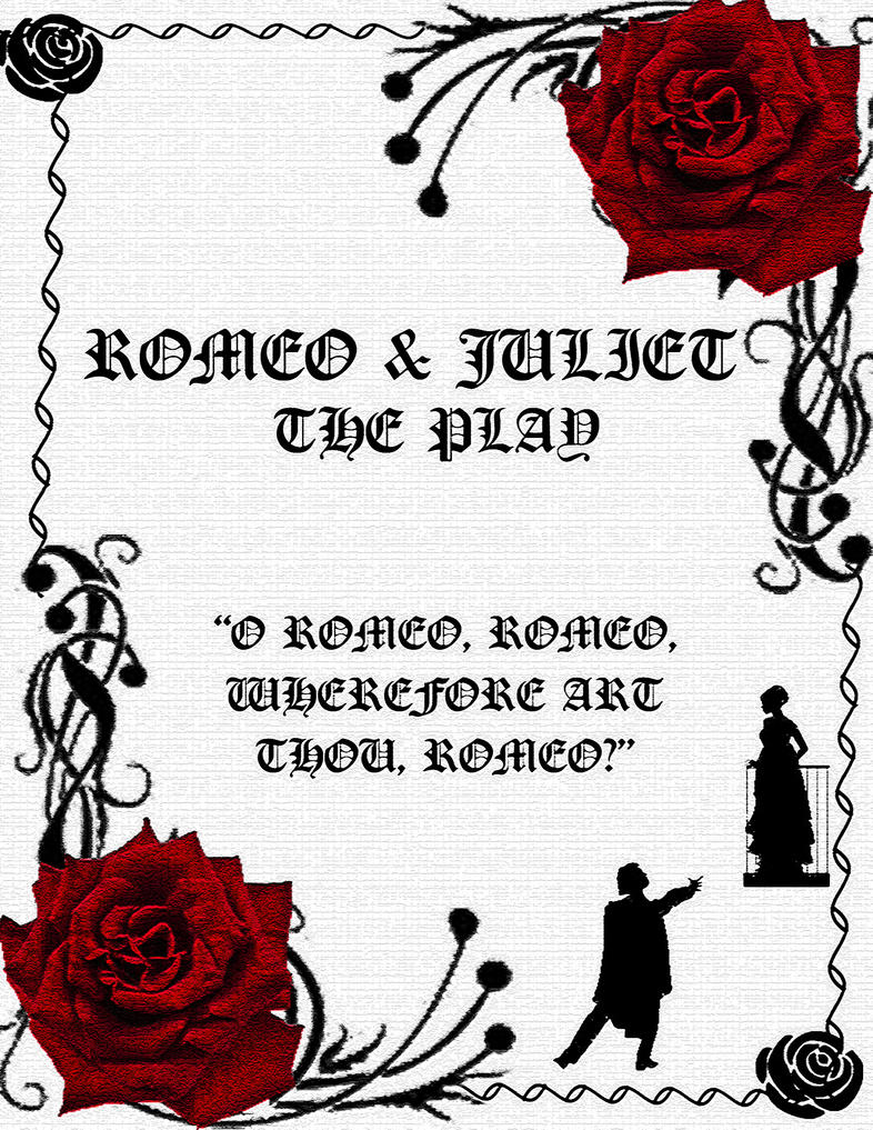 Romeo and Juliet poster by FrozenMorningstar on DeviantArt