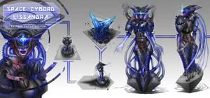 League of Legends_Lissandra_Space Cyborg_Concept