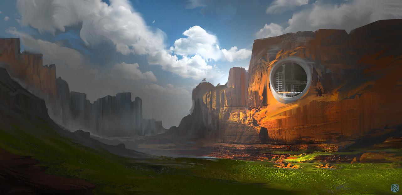 Dreamed Landscape by Kashuse