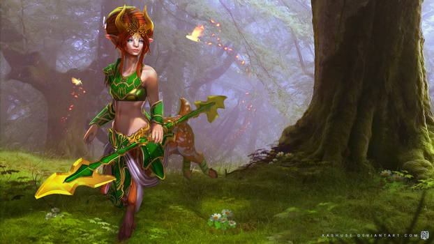 Dota2 - Enchantress - The Will of Nature