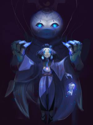 Onmyoji Puppeteer by Kashuse