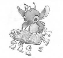 Lilo and Stitch: Storytime by lazy-perfs