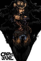 Crow Jane Cover by RevolverComics