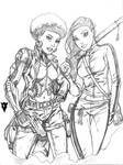 Coleen Wing and Misty Knight