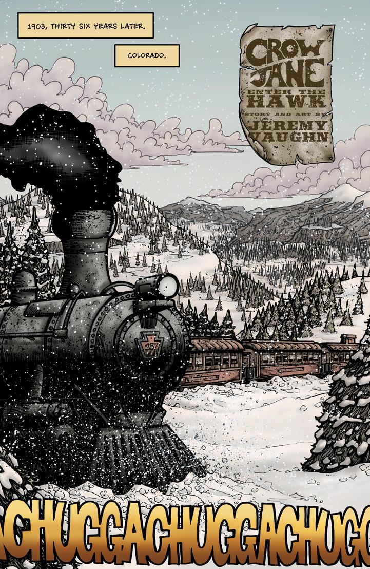 Crow Jane: Enter the Hawk no.1 pg04 by RevolverComics