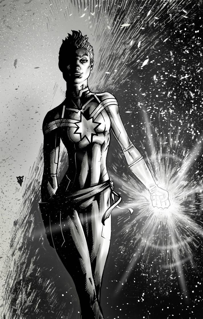 Captain Marvel by RevolverComics