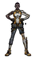Mary of Silence design by RevolverComics