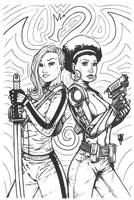Daughters of the Dragon by RevolverComics