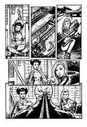 Daughters of the Dragon samples pg 2 by RevolverComics