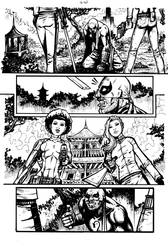 Daughters of the Dragon samples pg 6 by RevolverComics