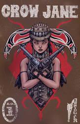 Crow Jane: The Season of Revenge book1 cover dirty