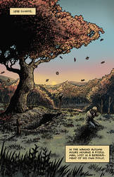 Crow Jane: The Season of Revenge book1 pg1 bw