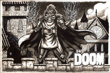 Dr. Doom by RevolverComics