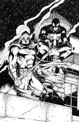Spider-Man and Moon Knight