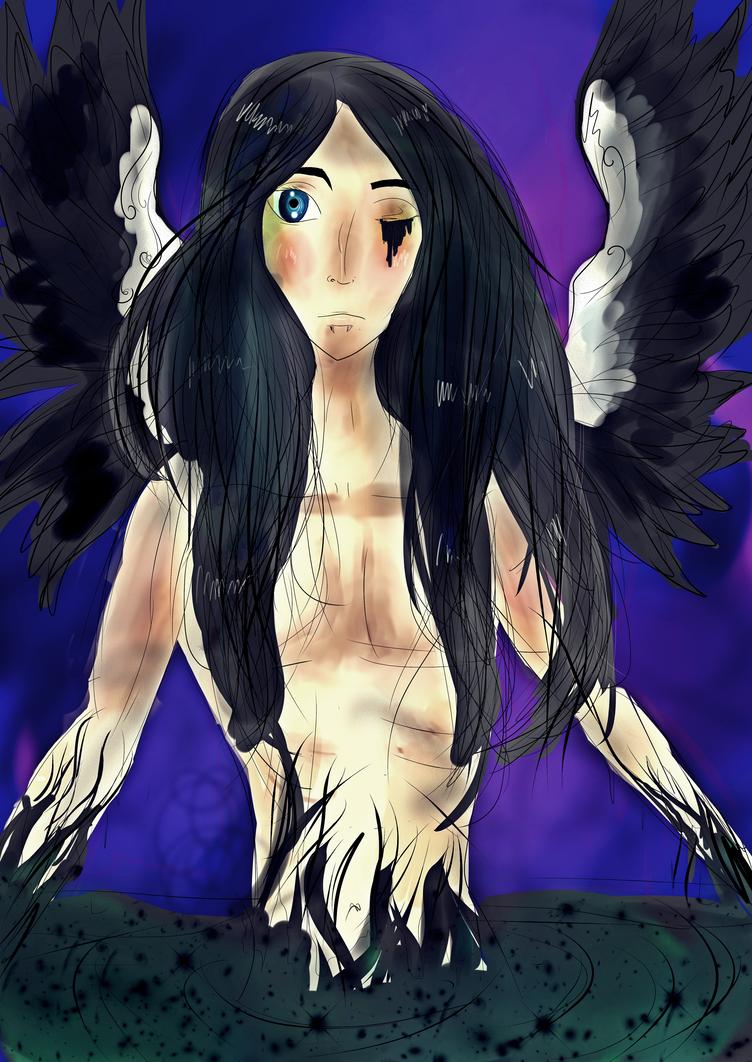 Fallen Angel by Tonxbunny94
