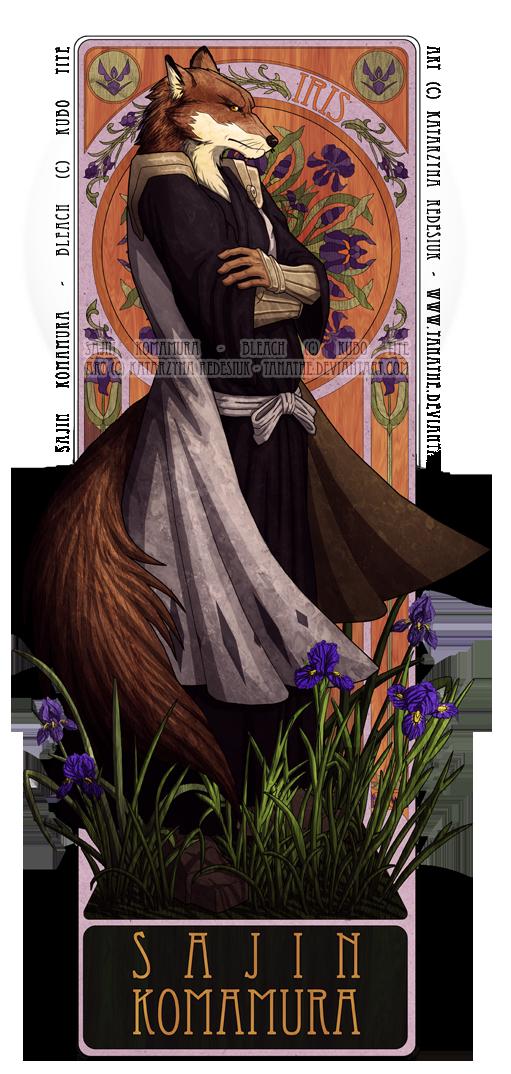 Komamura - Iris by vesner