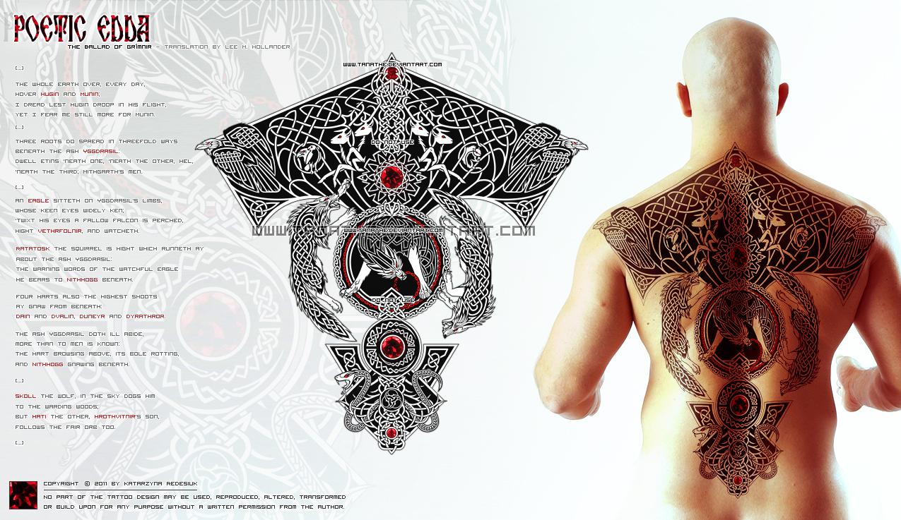 celtic knotwork yggdrasil by vesner on deviantart