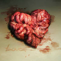 i drew you a heart