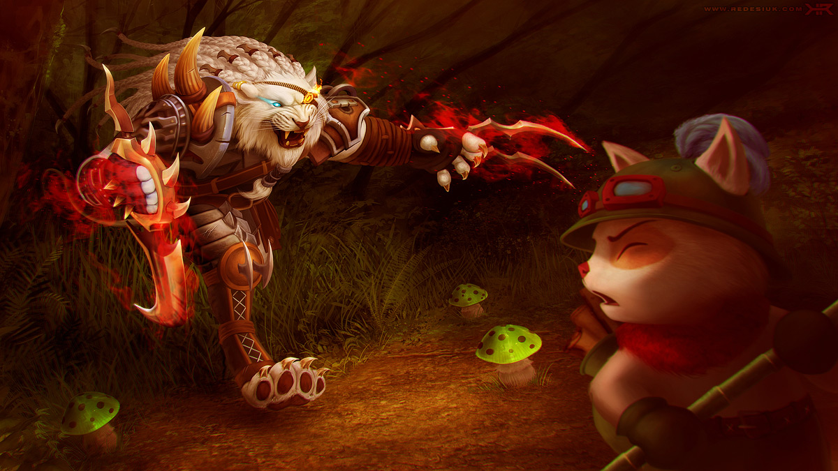 League of Legends - beware the tall grass by vesner