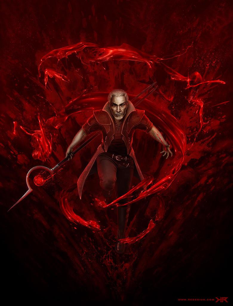 blood magic by vesner on deviantart