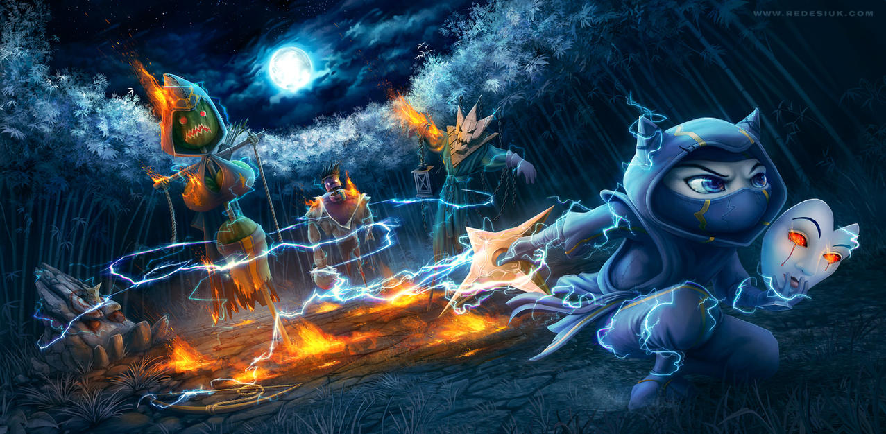 League of Legends - burning heart of the tempest by vesner