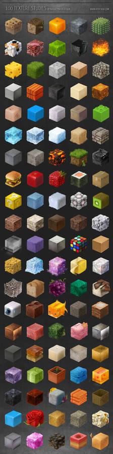 100 texture studies