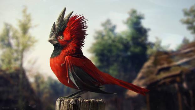 cdp red bird by vesner
