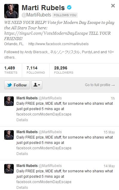 MARTI RUBELS FOLLOWED ME by UnderAbigailsRose on DeviantArt