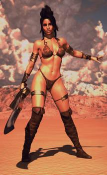 Iray: The Barbarian