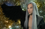 Iray: Sephiroth - Maybe...? by N-RArts