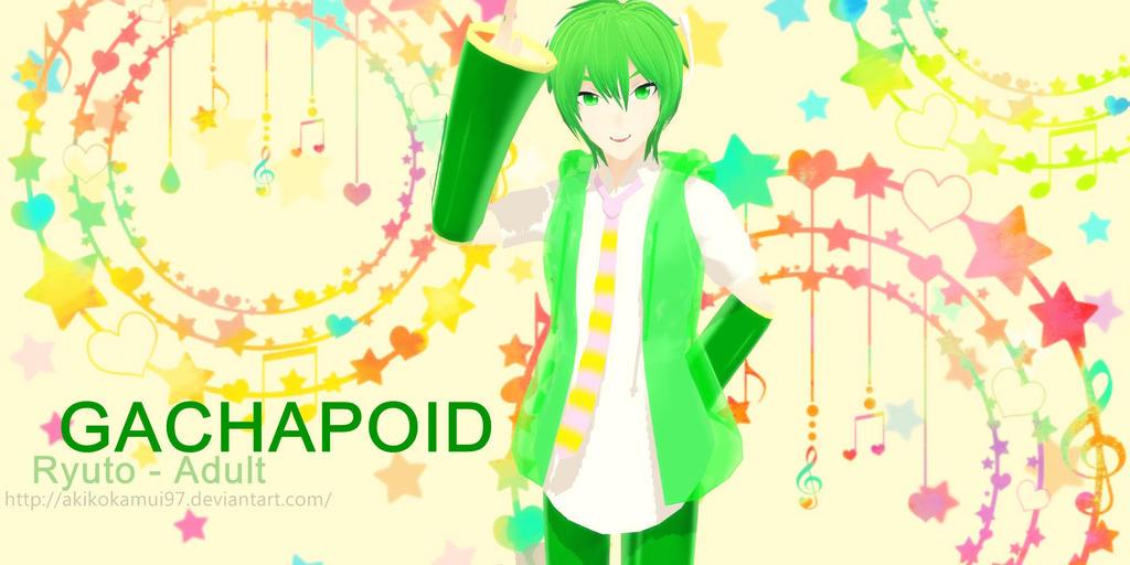 DT - (Gachapoid) Adult Ryuuto + DL Link by AkikoKamui97