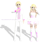 TDA Rin and Len FutureStyle White Magnet + DL Link