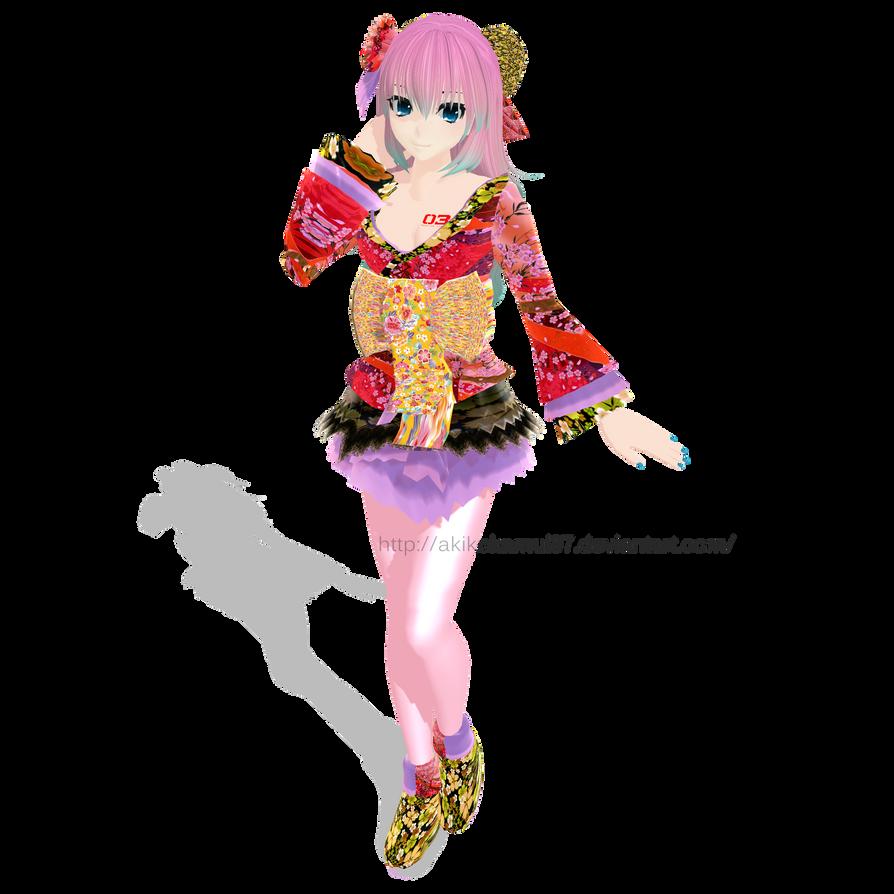 TDA Luka Kimono + Download Link by AkikoKamui97
