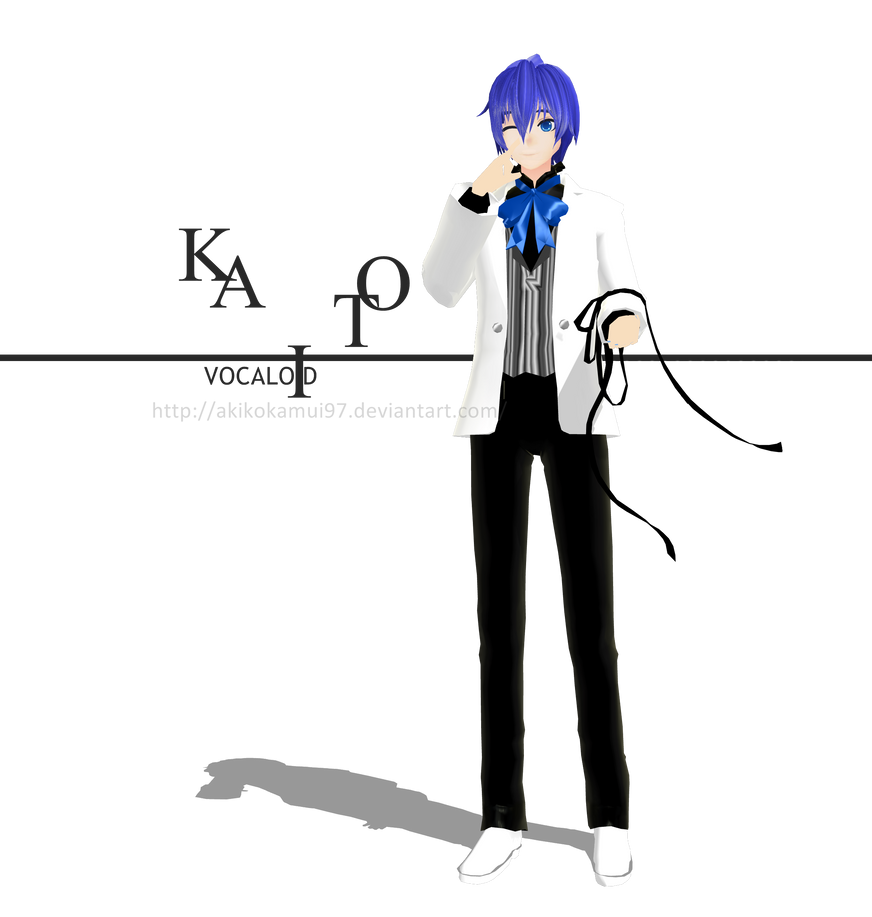 MMD PD - KAITO Camellia + Download Link by AkikoKamui97