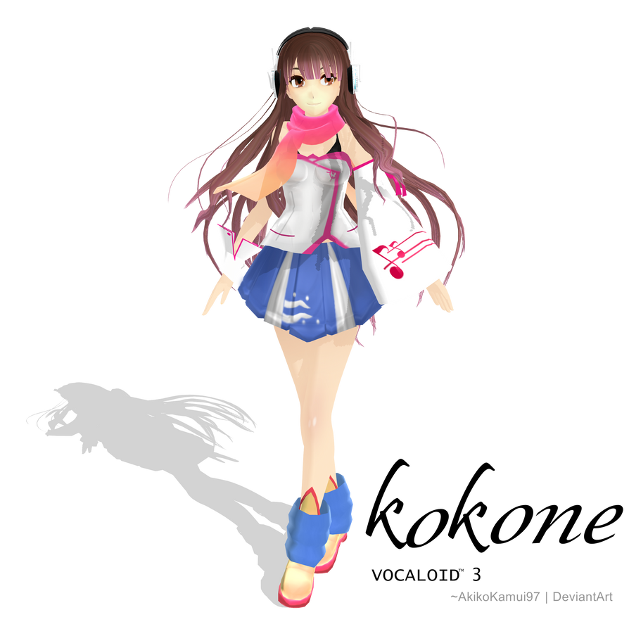 Vocaloid Kokone TDA Vocaloid3 - Kokone...