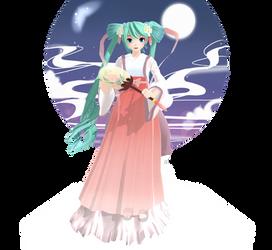 PD Hatsune Miku - Harvest Moon + DL link by AkikoKamui97