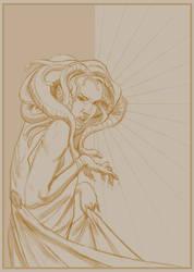 Gorgon Gal - Sketch