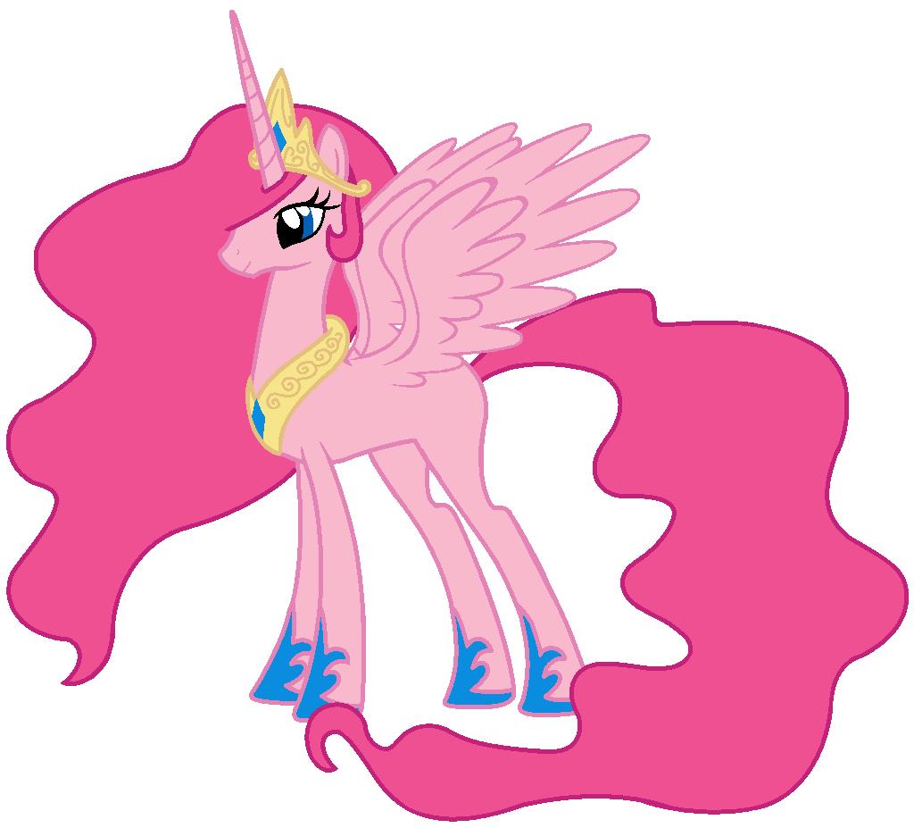 Queen Pinkie Pie by Beavernator