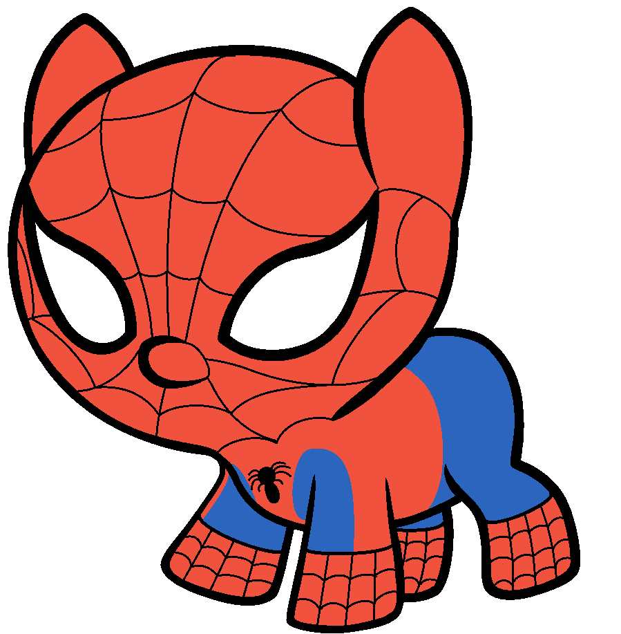 Spiderman as a baby pony by beavernator on deviantart - Free spiderman cartoons ...