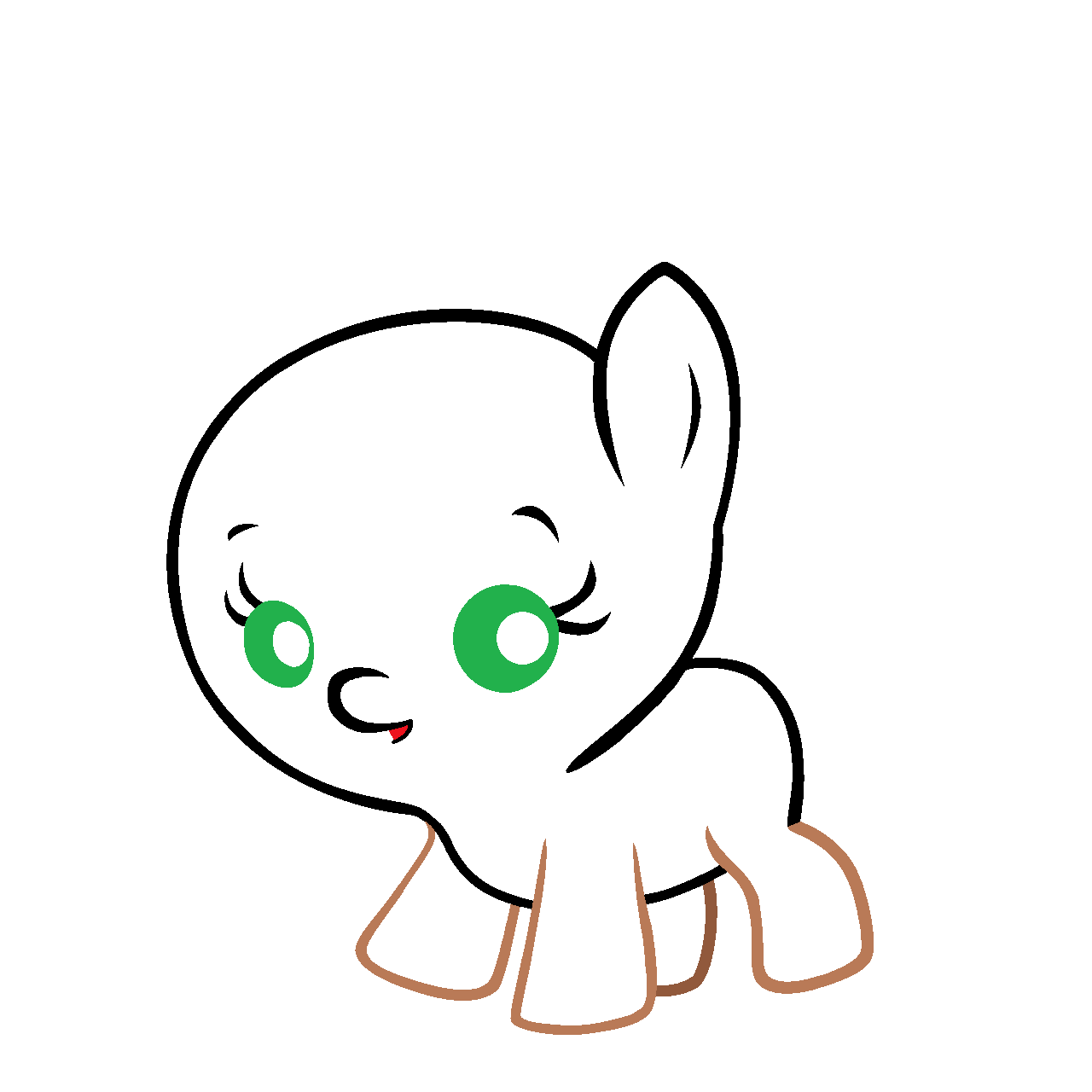 Mlp Baby Base Crying Another baby pony template by