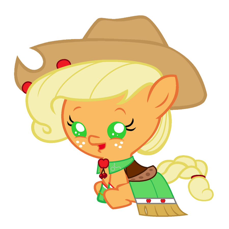 My little pony baby applejack - photo#18