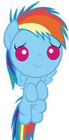 Baby Rainbow Dash Will Help You Feel Awesomer
