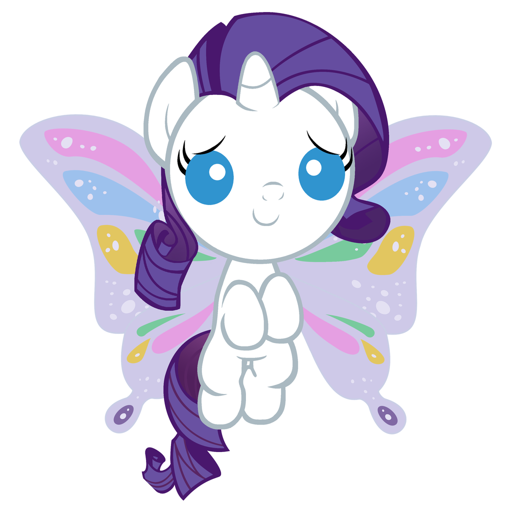 Baby Rarity will help you feel fabulous by Beavernator