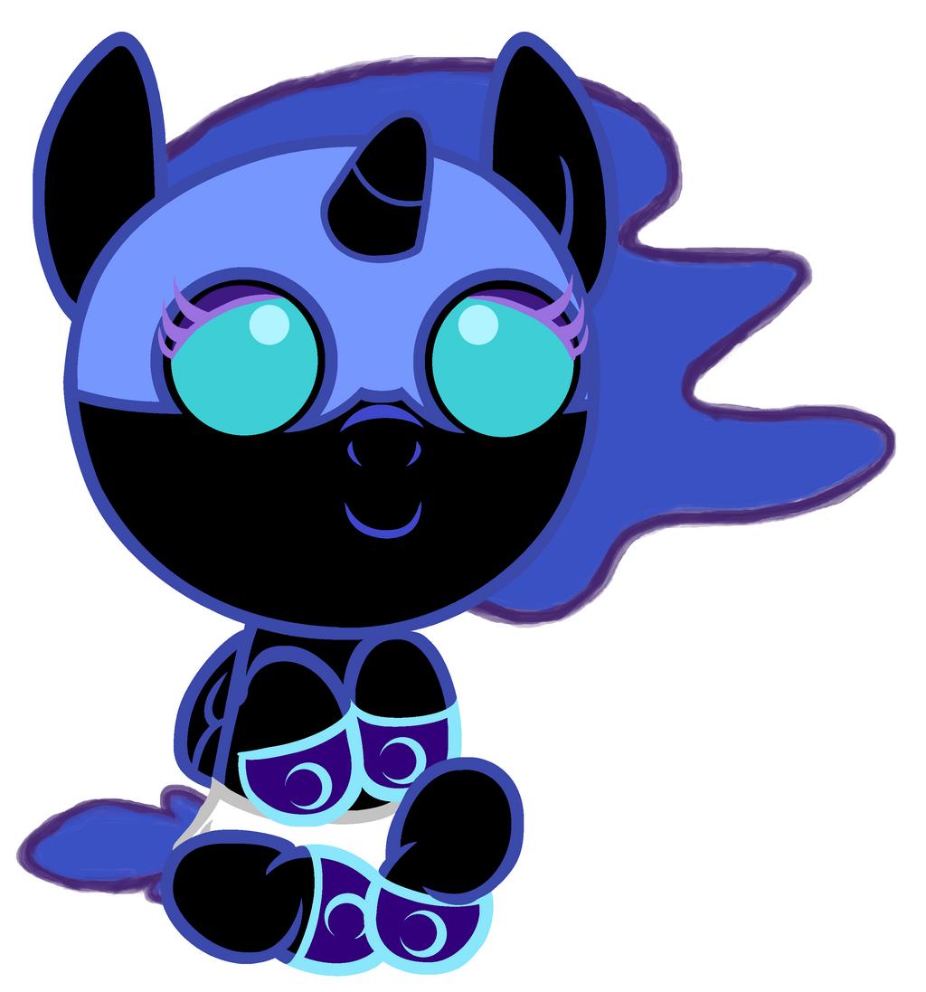 Nightmare Moon's New Socks by Beavernator