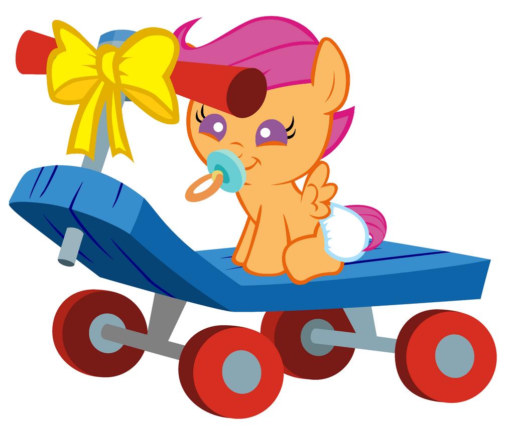 Happy Birthday Scootaloo by Beavernator